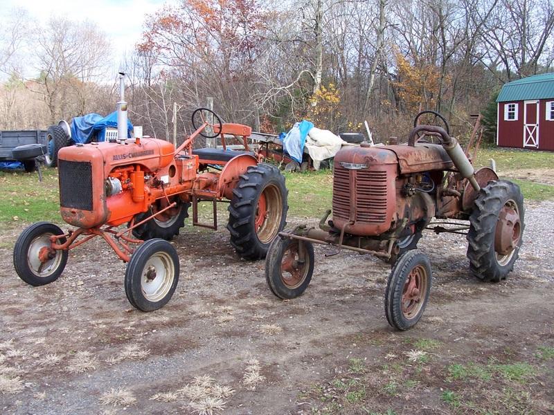 The Original Tractors At Farm Allis B And Farmall: Allis Chalmers C Tractor Wiring Diagram At Shintaries.co