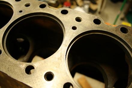 Allis Chalmers B tractor engine rebuild