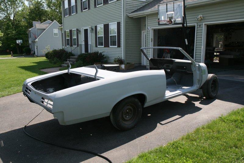 GTO Filler, Priming, and Base Coat Clear Coat Work