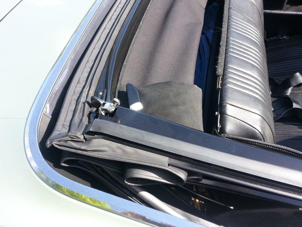 1966 Gto Convertible Top Wiring Diagram Trusted Schematics 1967 Pontiac Le Mans Fuse Box Squids Fab Shop Converible Installation Part 2