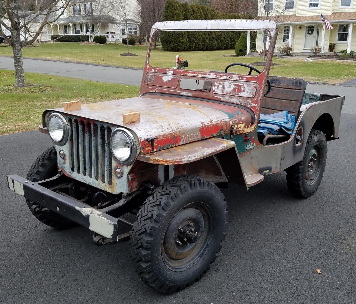 Squids Fab Shop Home Page Willys Jeeps On Filter Box Recently Revived Jeep Cj3a 1950