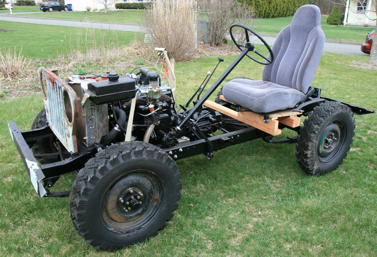 Willys Jeep CJ3A Chassis and Drivetrain Rebuild