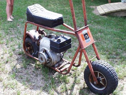 Squid S Fab Shop Galaxy Powerdyne Minidbike Rebuild